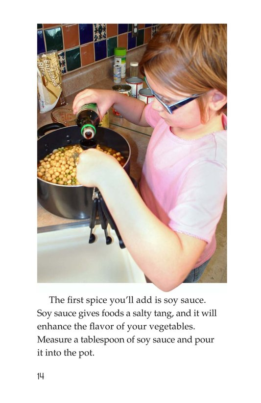 Book Preview For Let's Make Vegetable Soup Page 14