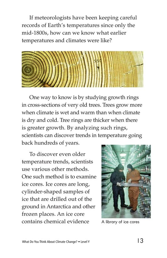 Book Preview For What Do You Think About Climate Change? Page 13