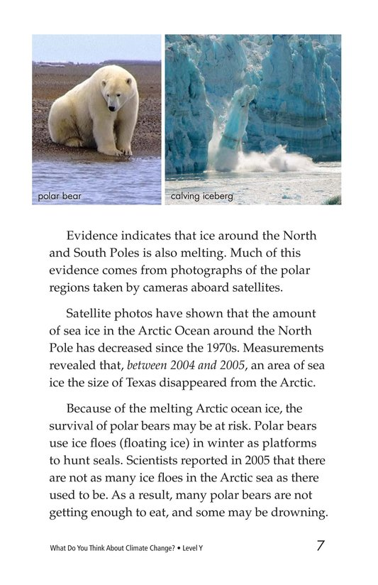 Book Preview For What Do You Think About Climate Change? Page 7