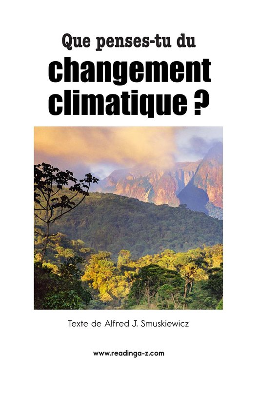 Book Preview For What Do You Think About Climate Change? Page 2