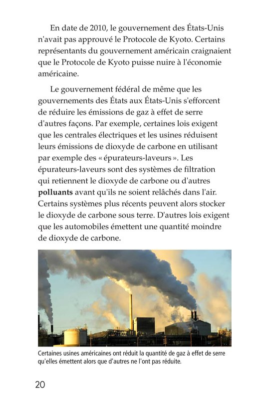 Book Preview For What Do You Think About Climate Change? Page 20