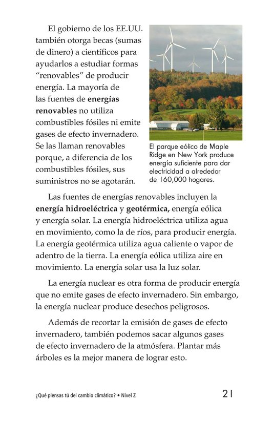 Book Preview For What Do You Think About Climate Change? Page 21