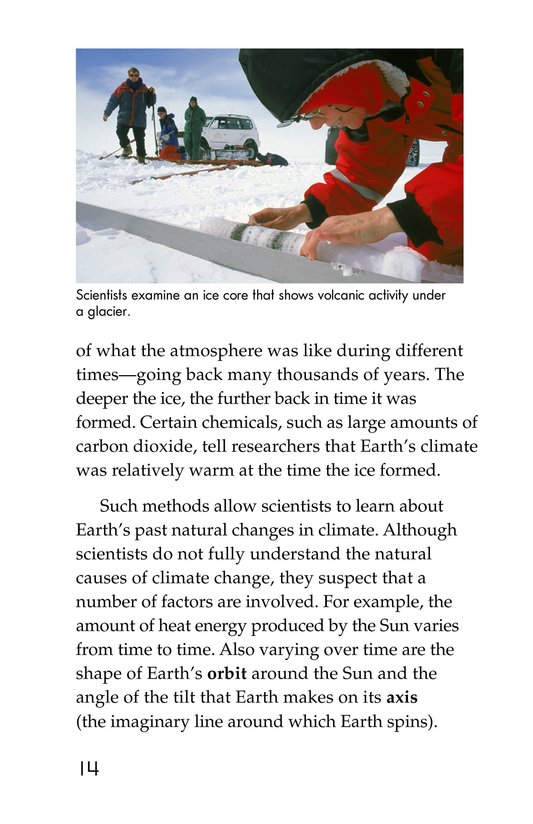 Book Preview For What Do You Think About Climate Change? Page 14