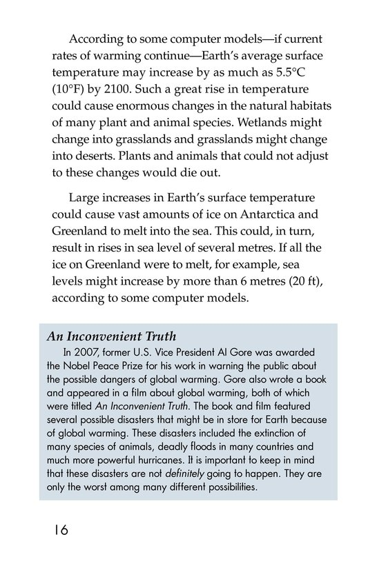 Book Preview For What Do You Think About Climate Change? Page 16