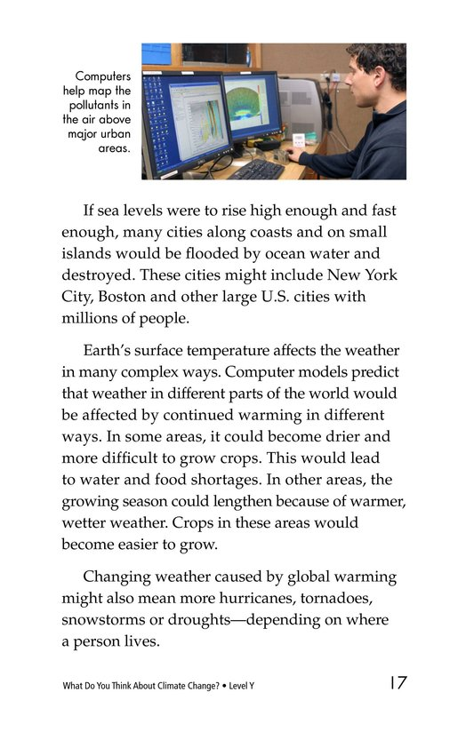 Book Preview For What Do You Think About Climate Change? Page 17