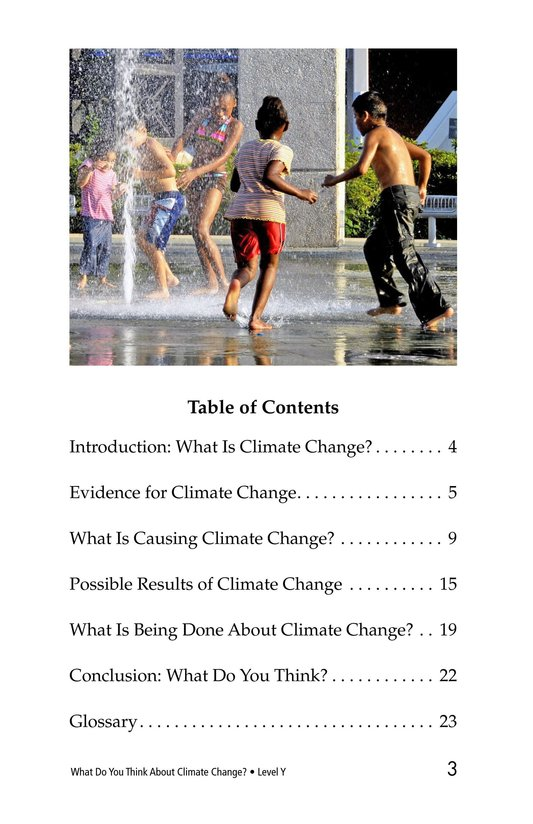 Book Preview For What Do You Think About Climate Change? Page 3