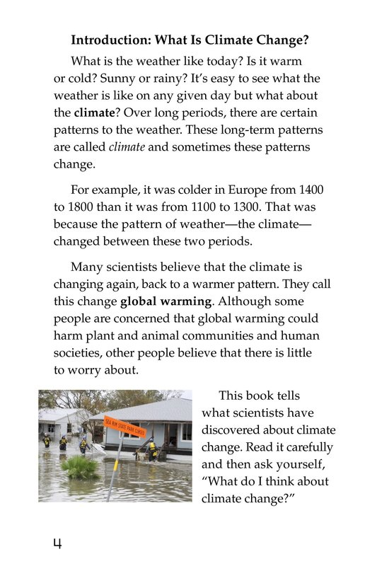 Book Preview For What Do You Think About Climate Change? Page 4