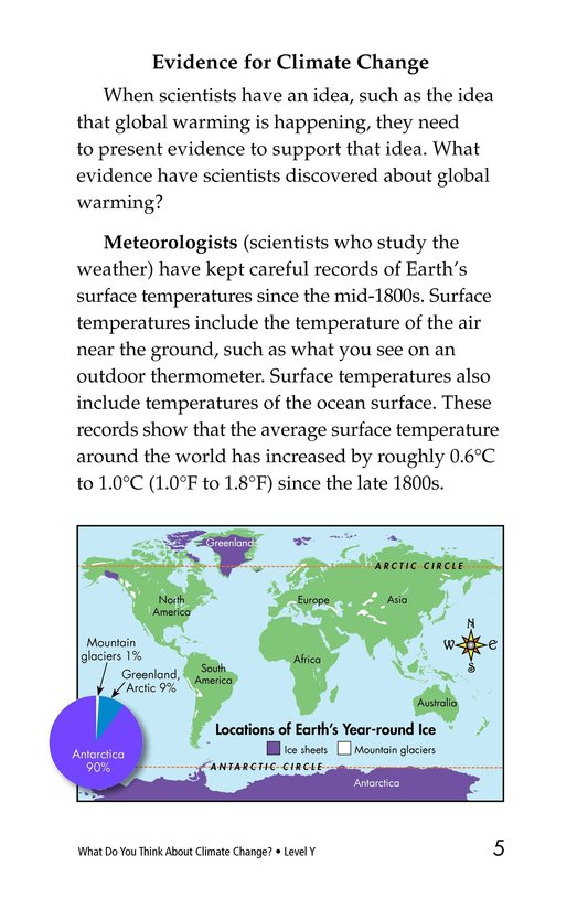 Book Preview For What Do You Think About Climate Change? Page 5