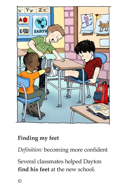 Book Preview For Idioms for How You Feel Page 10
