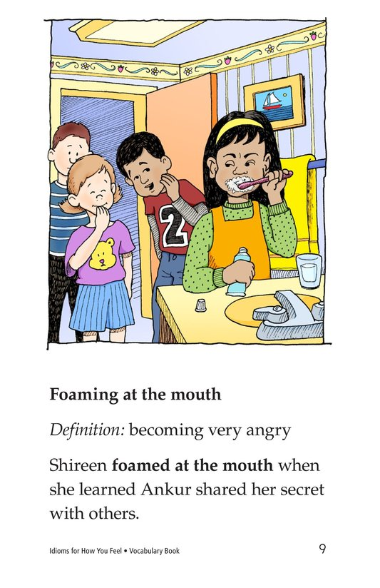 Book Preview For Idioms for How You Feel Page 9