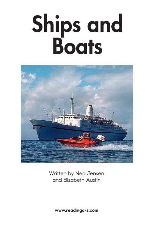 Book Preview For Ships and Boats Page 2