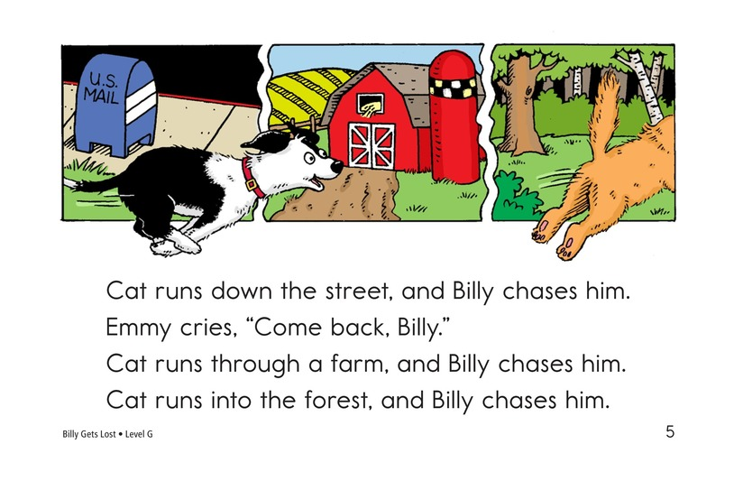 Book Preview For Billy Gets Lost Page 5