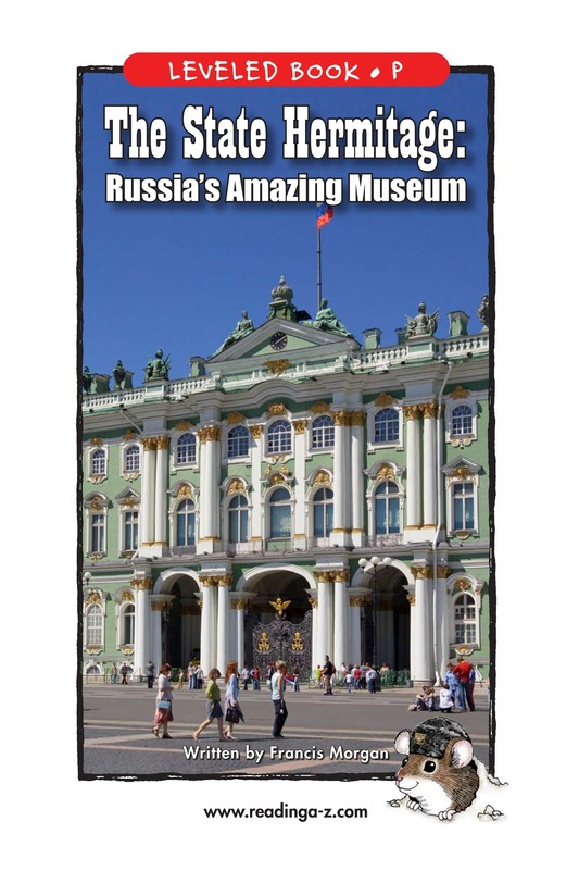 Book Preview For The State Hermitage: Russia's Amazing Museum Page 1
