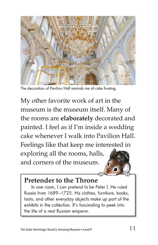 Book Preview For The State Hermitage: Russia's Amazing Museum Page 11