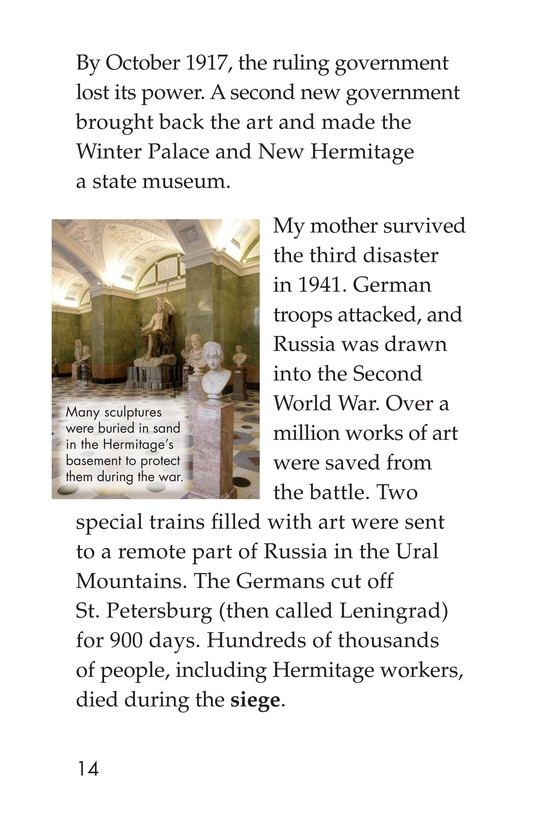 Book Preview For The State Hermitage: Russia's Amazing Museum Page 14