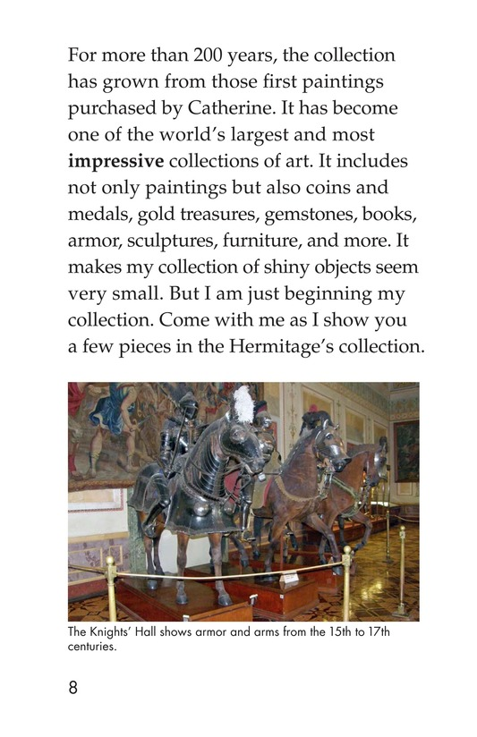 Book Preview For The State Hermitage: Russia's Amazing Museum Page 8
