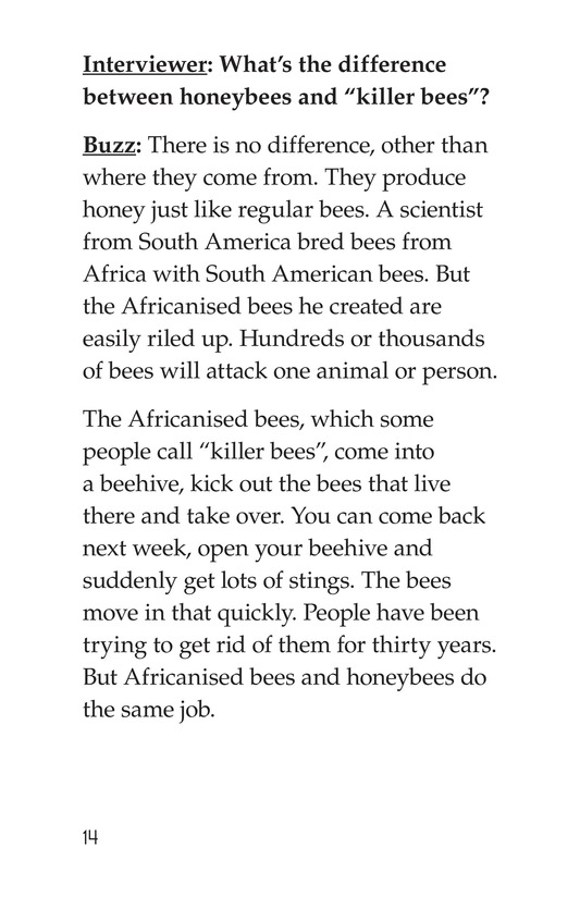 Book Preview For The Beekeeper Page 14
