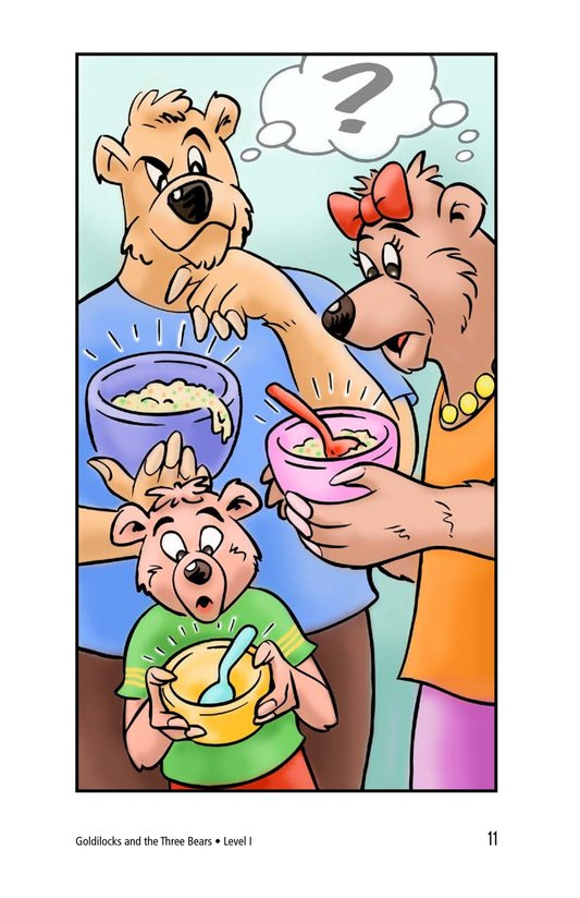 Book Preview For Goldilocks and the Three Bears Page 11