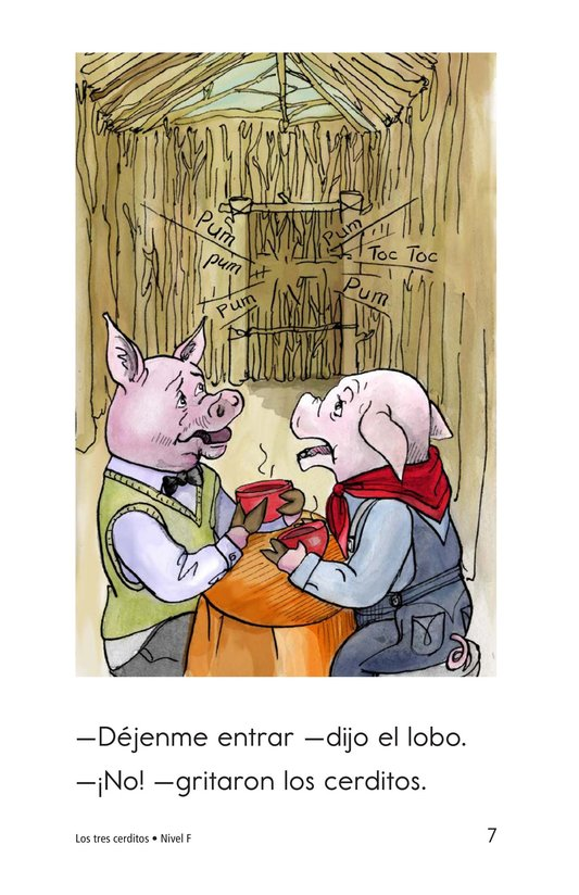Book Preview For The Three Little Pigs Page 7