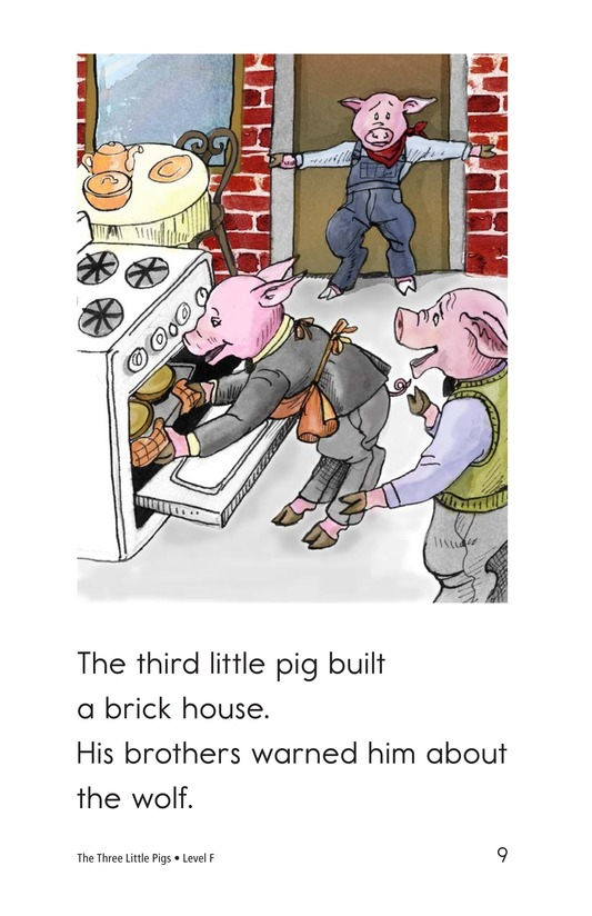 Book Preview For The Three Little Pigs Page 9
