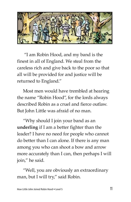 Book Preview For How Little John Joined Robin Hood Page 11
