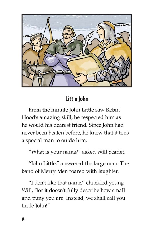 Book Preview For How Little John Joined Robin Hood Page 14