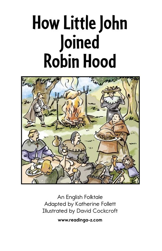Book Preview For How Little John Joined Robin Hood Page 2