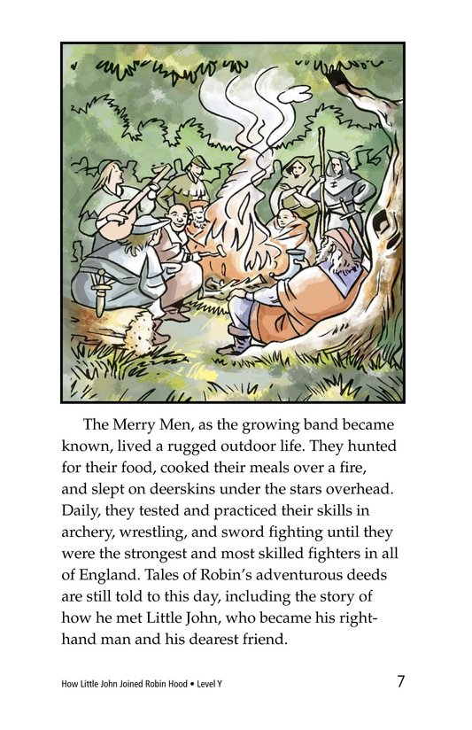 Book Preview For How Little John Joined Robin Hood Page 7