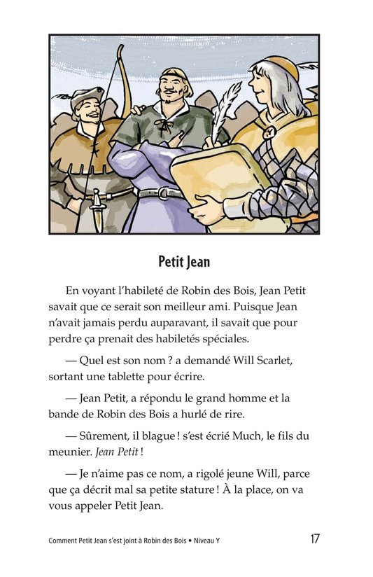 Book Preview For How Little John Joined Robin Hood Page 17