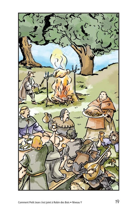 Book Preview For How Little John Joined Robin Hood Page 19