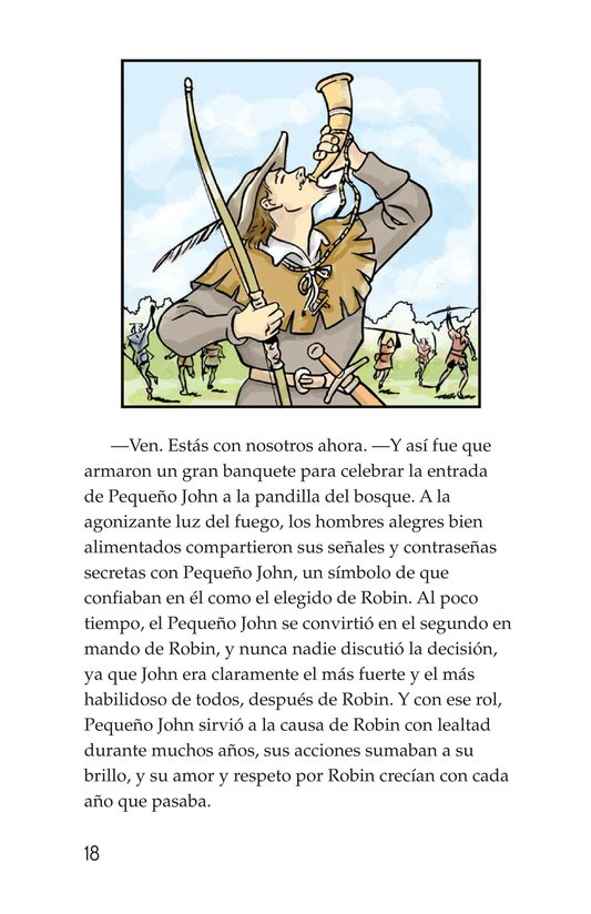 Book Preview For How Little John Joined Robin Hood Page 18