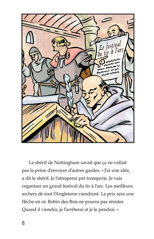 Book Preview For Robin Hood Wins the Sheriff's Golden Arrow Page 8