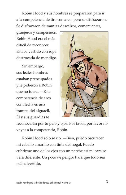 Book Preview For Robin Hood Wins the Sheriff's Golden Arrow Page 9