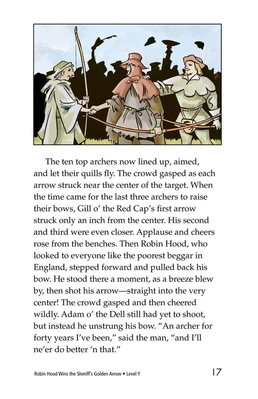 Book Preview For Robin Hood Wins the Sheriff's Golden Arrow Page 17