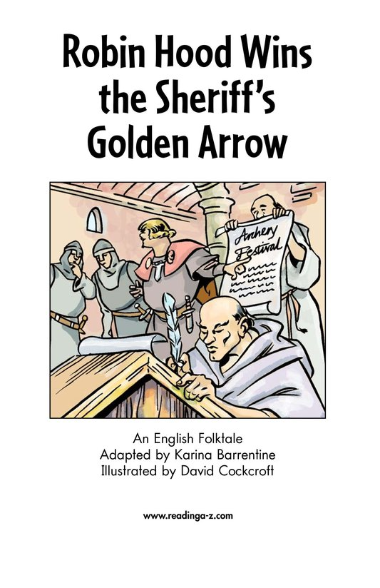 Book Preview For Robin Hood Wins the Sheriff's Golden Arrow Page 2