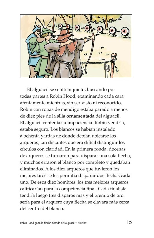 Book Preview For Robin Hood Wins the Sheriff's Golden Arrow Page 15