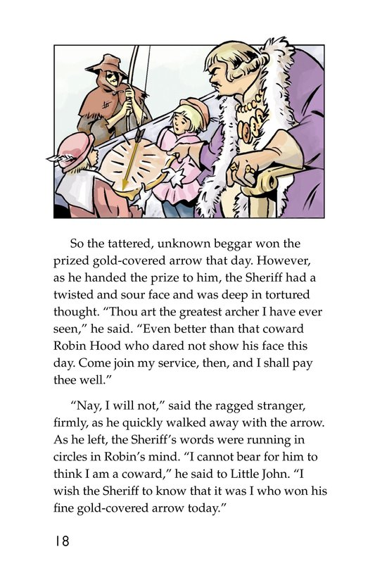 Book Preview For Robin Hood Wins the Sheriff's Golden Arrow Page 18
