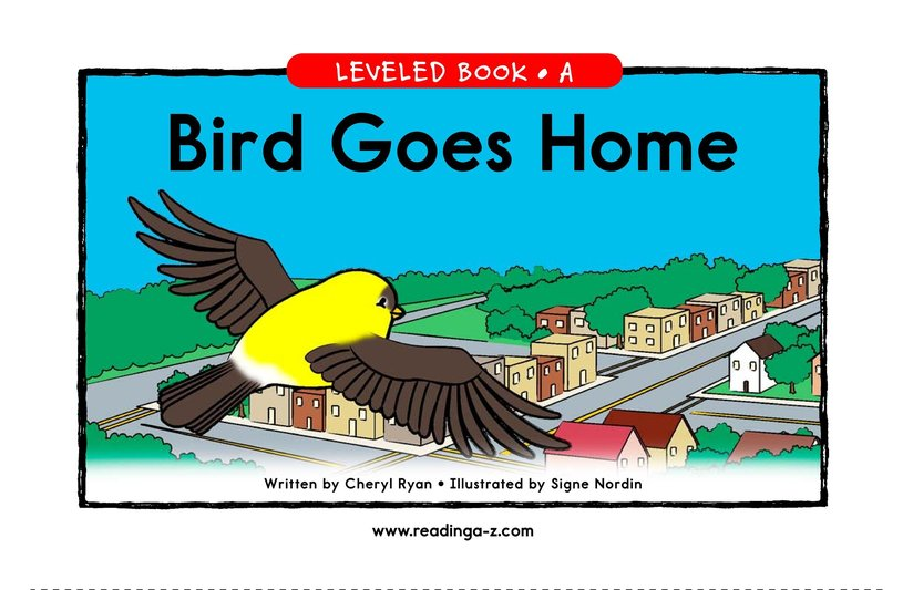 Book Preview For Bird Goes Home Page 1