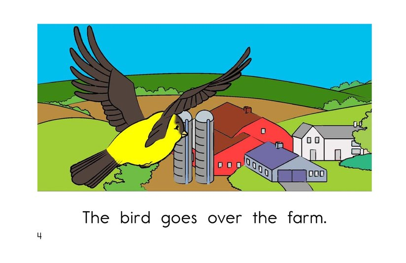 Book Preview For Bird Goes Home Page 4