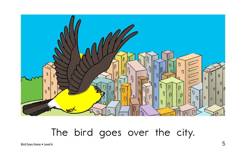 Book Preview For Bird Goes Home Page 5