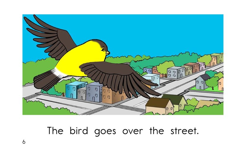 Book Preview For Bird Goes Home Page 6