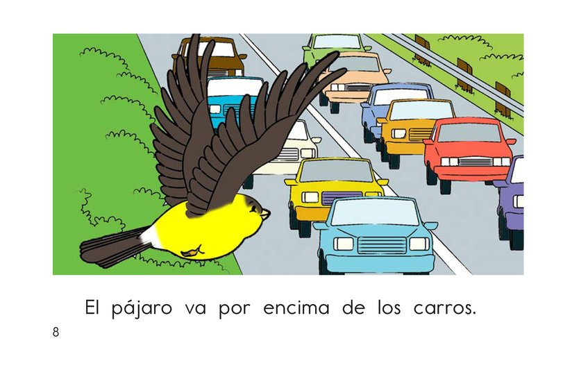 Book Preview For Bird Goes Home Page 8