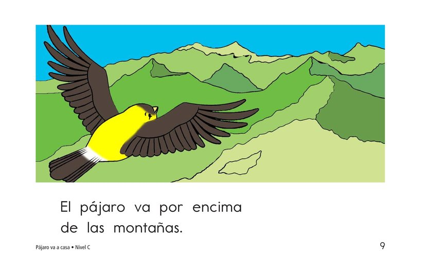 Book Preview For Bird Goes Home Page 9