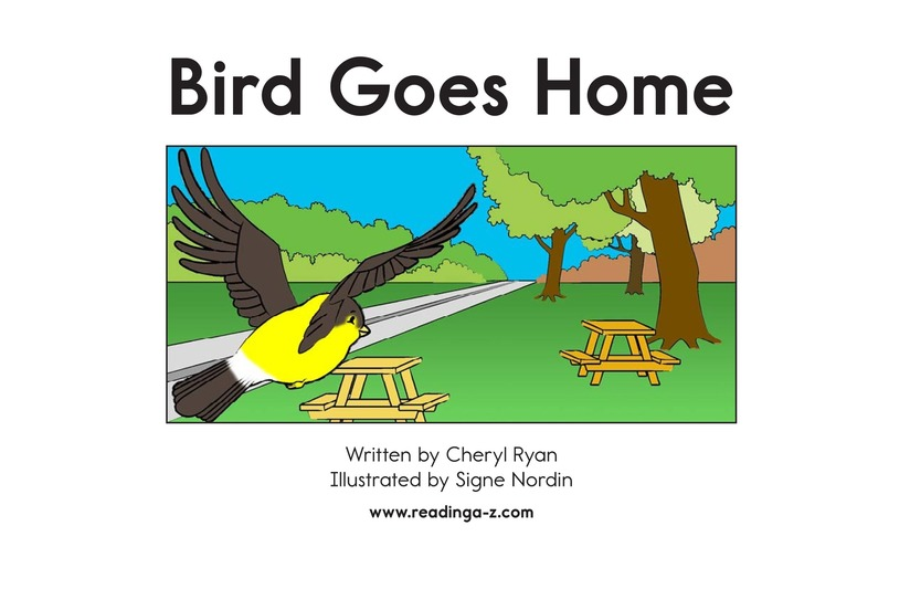 Book Preview For Bird Goes Home Page 2