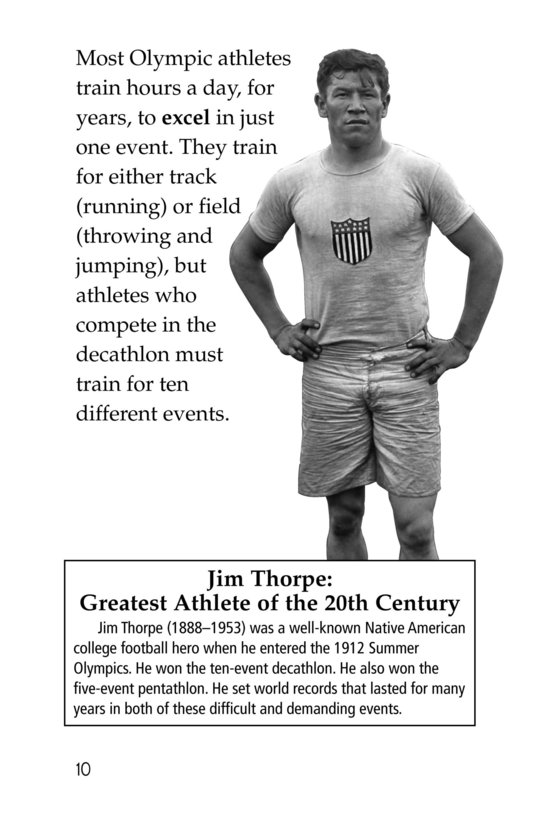 Book Preview For Summer Olympics Legends Page 10