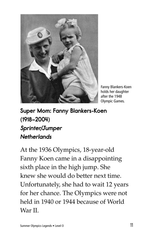 Book Preview For Summer Olympics Legends Page 11