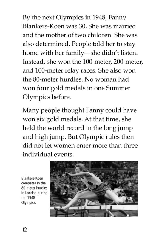 Book Preview For Summer Olympics Legends Page 12