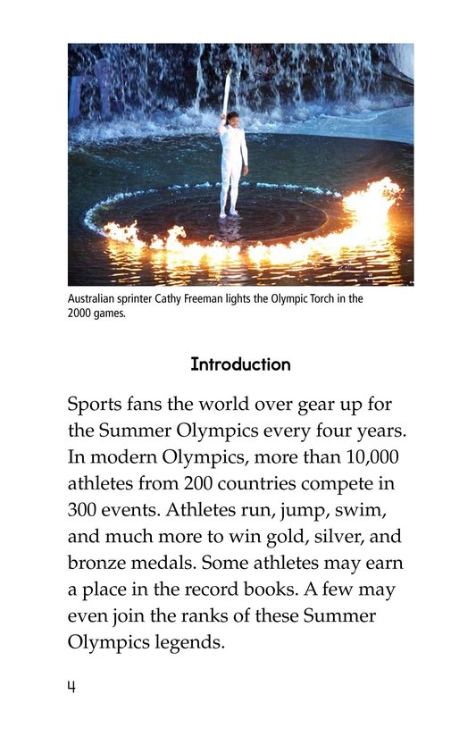 Book Preview For Summer Olympics Legends Page 4