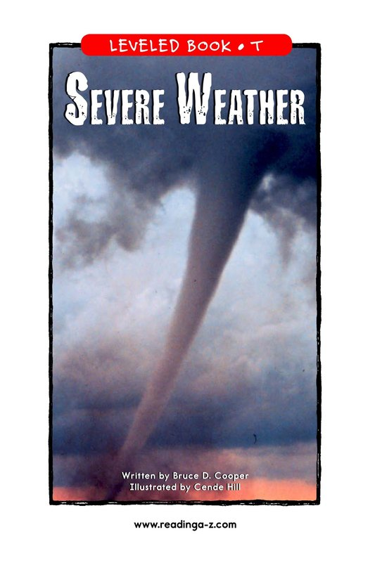 Book Preview For Severe Weather Page 1