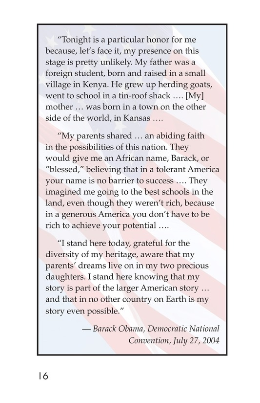 Book Preview For Barack Obama Page 16